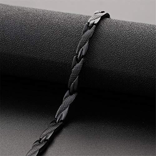 DASHUAIGE Armband Magnetisches Armband Für Frauen Magnete Magnetit Armbänder Armreifen Herren Schmuck Edelstahl
