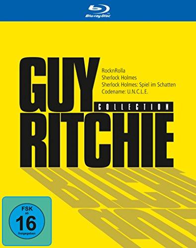 Guy Ritchie Collection (inkl. 4 Filme: Codename Uncle, RocknRolla, Sherlock Holmes, Sherlock Holmes: Spiel im Schatten) (exklusiv bei Amazon.de) [Blu-ray]
