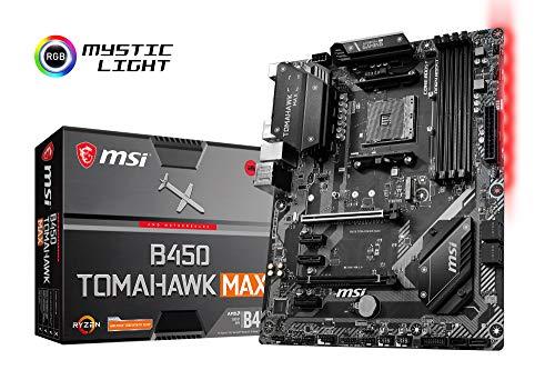 MSI B450 TOMAHAWK MAX ATX マザーボード MB4822