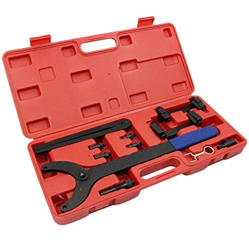 AURELIO TECH Timing Tool Kit FSI Chain Engine for Audi 3.2L V6 A4 A6 A8 Camshaft Adjuster Quattro 2.4L