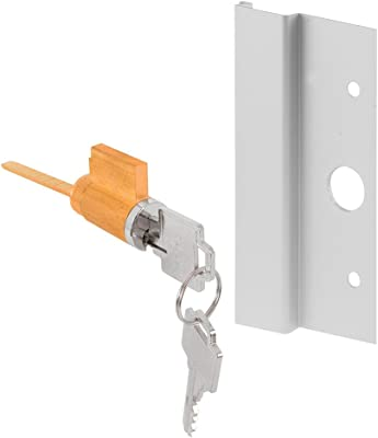 689 finish. Yale 217F-Exit Device Outside Trim less cyclinder