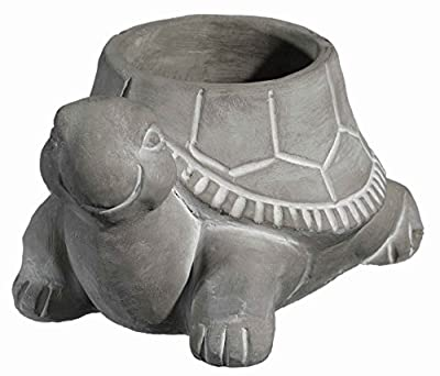 Classic Home and Garden 9/3451/1 Turtle Planter, Small, Natural