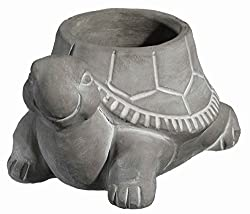 Classic Home and Garden 9/3452/1 Turtle Planter, Large, Natural