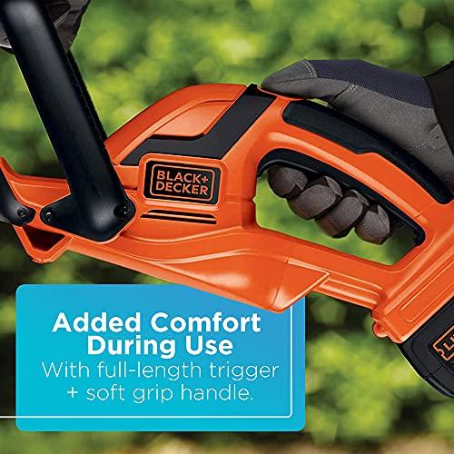 LACK+DECKER LHT2436 24-Inch 40-V Cordless Hedge Trimmer