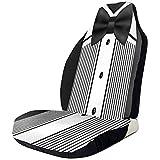 Xiaoyinghua Bow Tie Tuxedo Invitation Design Housses de siège automobile Imprimé en 3D Siège de voiture non...