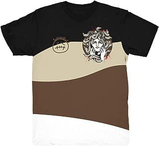 Cactus Jack 1 Medusa Wave Shirt to Match Jordan 1 Cactus Jack Sneakers | Jordan Retro 1 Travis Scott Shirt