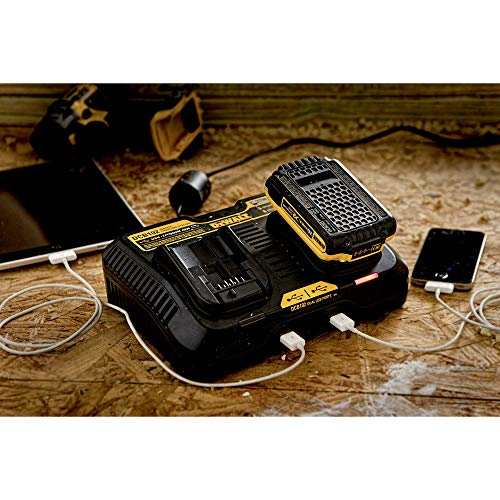 DEWALT 20V MAX Charging Station for Jobsite with 4Ah Battery Pack (DCB102BP)