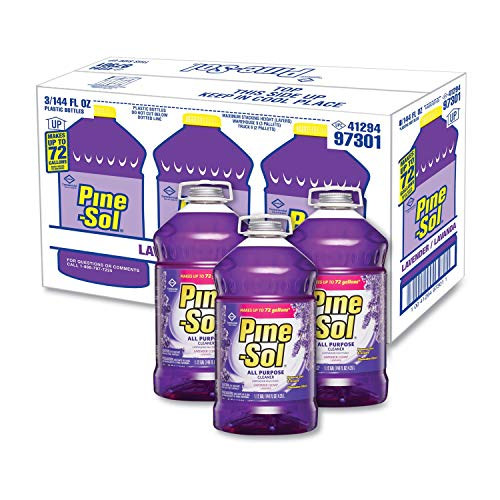 All Purpose Cleaner, Lavender Clean, 144 oz Bottle, 3/Carton [ESS]