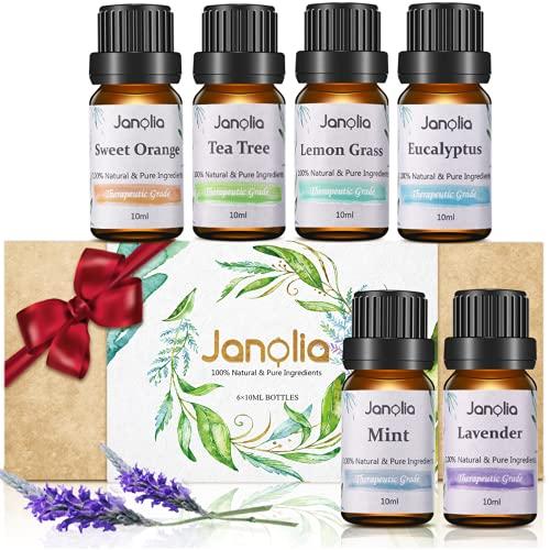 Janolia Huiles Essentielles Naturelles, Emballage...
