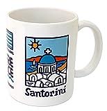 DONSOUVENIR MUG Santorini Modelo: Taza Islas GRIEGAS.
