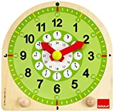 Goula- Learning Clock ED-Reloj Escolar, Multicolor, 3+ (Diset 55125) , color/modelo surtido