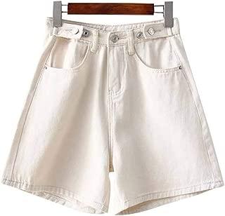 DONNA Estate Fiocco Larga Hot Pantaloni Solido Colore Casual Gamba Pantaloncini