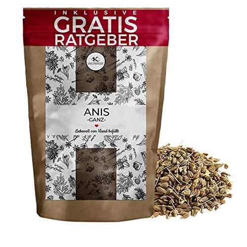 Anis - Anissamen ganz 250g - ganzer Anis verpackt im Frischebeutel - süßlich-aromatischen Weihnachtsgewürz zum backen, kochen und verfeinern - ohne Zusatzstoffe