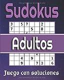 Sudokus adultos: libro de pasatiempos para adultos   Niveles: fácil - medio - difícil con soluciones   Puzzles classique 9x9 en gros caractère - calculo mental