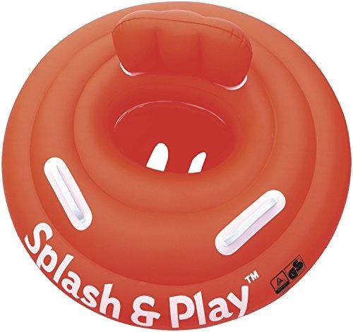 Bieco 22032103 – Bouée siège bébé Splash and Play, 0–12 Mois Ou jusqu'à 11 kg