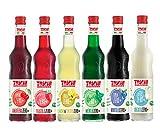 Drink Zero + 560 ml, Sciroppo senza Zucchero nei gusti: Amarena, Menta, Limone&Zenzero, Fragola Mirtillo ed Orzata.