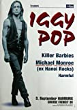 POP, IGGY -2000 - Konzertplakat - Hannoi Rocks - Turposter