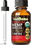 SHARPENS FOCUS, MEMORY & ATTENTION* - Hemp oil has been found to increase and boost the immune system as well has aide in focus and overall brain function. KNOWN TO PROMOTE RESTFUL SLEEP* - Hemp Seed Oil contains high Magnesium content which often re...