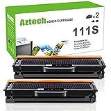 Aztech Tóner compatible D111S para Samsung MLT D111S D111L Toner para Samsung Xpress M2026W M2070W M2026 M2070 M2070FW M2070F M2020 M2020W M2022W M2022 M2022 4 (2 unidades Pack Negro)