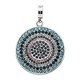 JEWELS BY LEONARDO femme pendentif Melina Darlin's acier inoxydable/argent pierres de...