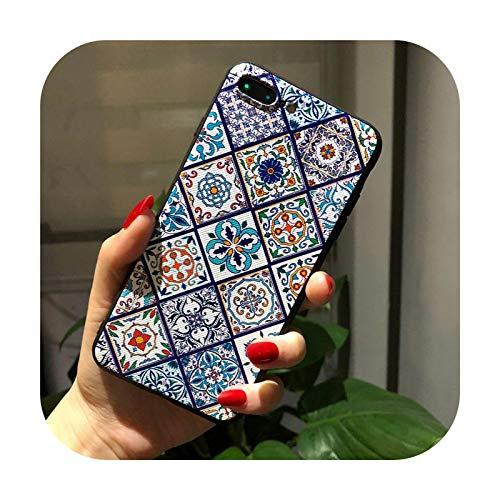 Para Samsung A51 5G caso relieve cajas de teléfono para Samsung Galaxy A71 2020 A21S A21 s A31 A41 A 51 cubierta trasera de silicona suave - 9-Para A41