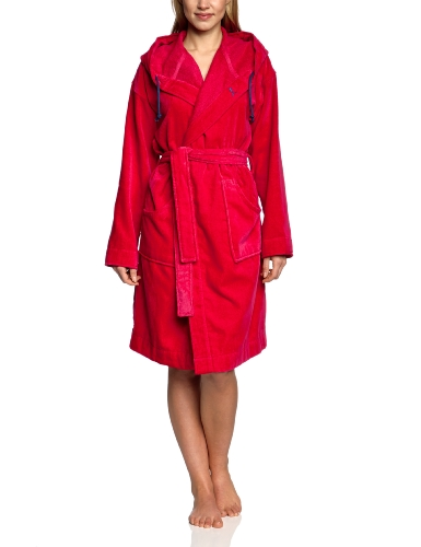 PUMA Damen Bademantel Women's Foundation Bathrobe, Virtual pink, XS, 510528 02