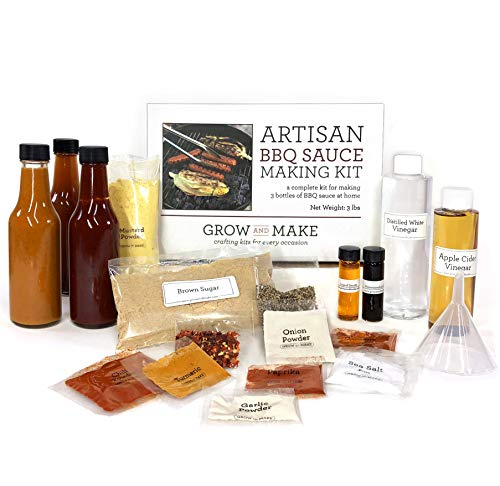 Artisan DIY BBQ Sauce Making Kit - Learn how to make a variety of grilling sauces at home