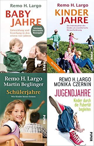 Baby-, Kinder-, Schüler- und Jugendjahre von Remo H. Largo + 1 exklusives Postkartenset