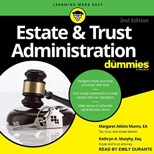 Estate & Trust Administration for Dummies, 2nd Edition Titelbild