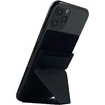MOFT X 最薄クラス iPhone Android スマホスタンド スマホホルダー スキミング防止カードケース (ブラック)