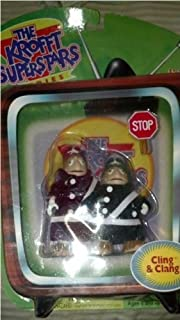 H.R. Pufnstuf Cling & Clang Action Figure Set by The Krofft Superstars
