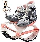 WWSZ Botas Infantiles de Salto zancos,Zapatos para Saltos de Rebote Fitness, Jump Shoes Botas,Botas De Rebote Antigravedad Jugar Baloncesto, Correr, Saltar y divertirse