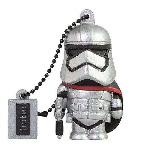 Llave USB 16 GB Captain Phasma - Memoria Flash Drive 2.0 Original Star Wars, Tribe FD030502