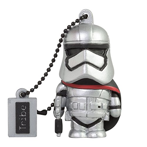 Llave USB 16 GB Captain Phasma - Memoria Flash Drive 2.0 Original Star Wars, Tribe FD030502