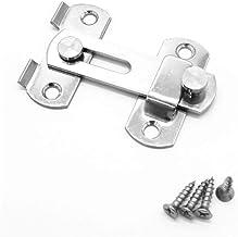 1 Stuks Roestvrij Stalen Gesp Lock 70 × 50 Mm / 2,76 X 1.97inch, Gebruikt For Schuifdeur En Window Kabinet Fittings, Gebru...