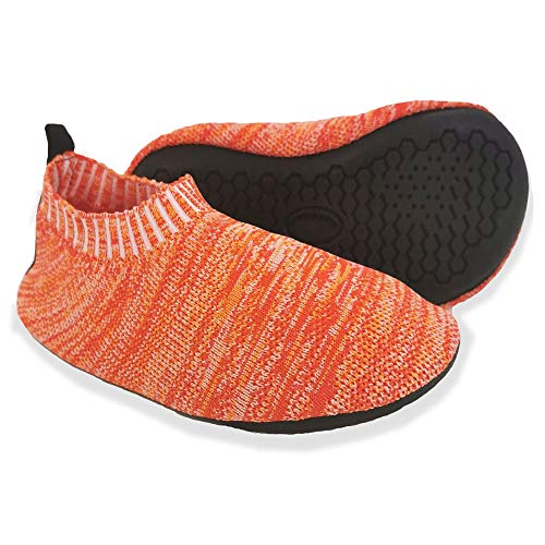 Dream Bridge Kids Slipper Socken Anti-Rutsch-Strick Socken Hausschuhe für Jungen Mädchen Indoor Outdoor Socken mit Gummibodensohle