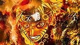 Handaxian Fotomurales Pintado Tejido Decoración de Pared Decorativos Murales Moderna de Diseno Fotográfico Moderno-Naruto(50x75cm) Sin Marco