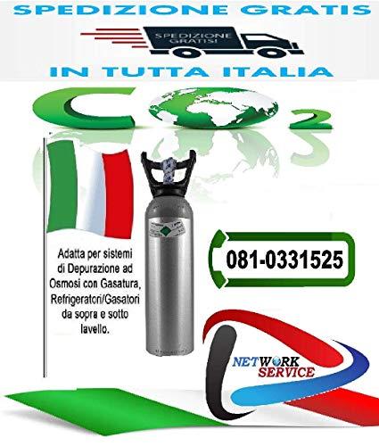 Novacqua - Bombola Co2 2Kg. Ricaricabile Att. 1/2