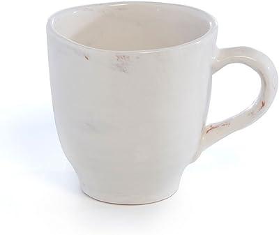 Shiraleah 23-FF-002IV Braga Mug Ivory