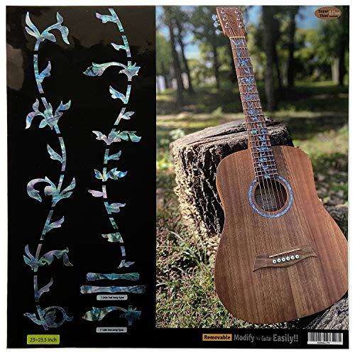 Inlay Sticker Griffbrett Position Marker für 23inch Reisegitarre - Tree of Life - Abalone-Mix