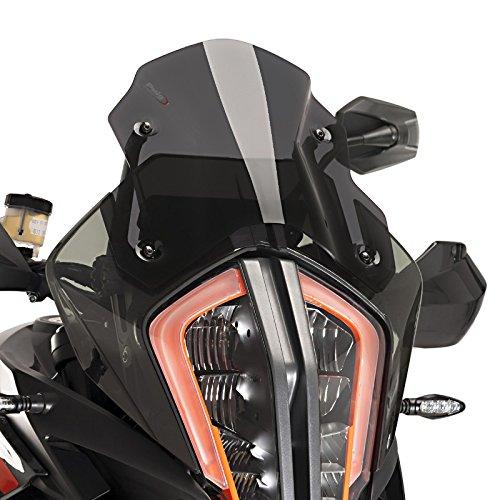 Racingscheibe für KTM 1290 Super Adventure R/S 17-19 dunkel getönt Puig 9716f