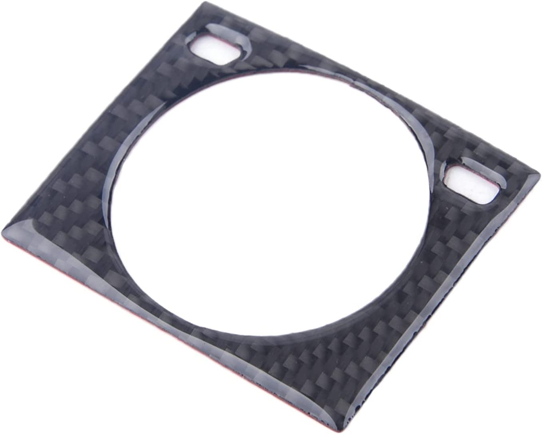 LINGJ WEISS Black Carbon Fiber Center Clock Dashboard Console Free shipping High order Fr