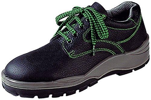 Asatex 3100044sicurezza scarpe, S3, in pelle, misura 9.5, nero/verde