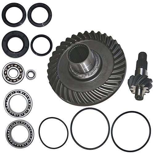 Fourtrax Rear Differential Ring and Pinion Gear & Bearing Fits 1988 1989 1990 1991 1992 1993 1994 1995 1996 1997 1998 1999 2000 Honda TRX300FW 300