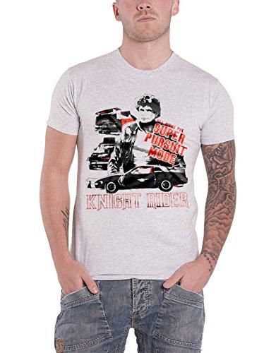 Men's Official 80s Knight Rider Super Pursuit Mode T-shirt, S to XXL
