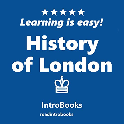 History of London audiobook cover art