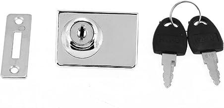 Fdit Zink Legering Enkele Deur Lade Lock Home Office Meubelkast Locker met Sleutel