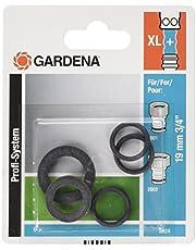 Gardena Profesjonalny system uszczelek: pasujący asortyment uszczelek jako części zamienne do złączek systemu Gardena Profi (nr art. 2801, 2802), (2824-20)