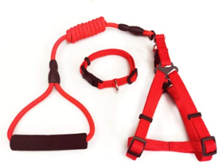 Virginia Beach Mall FEGOCLT Leash New Free Shipping for Pets Chest Medium-Sized Harness Collar