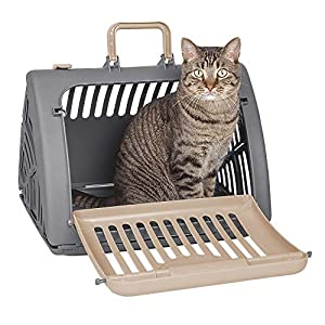 Sport Pet Foldable Travel Cat Carrier – Front Door Plastic Collapsible Carrier Collection